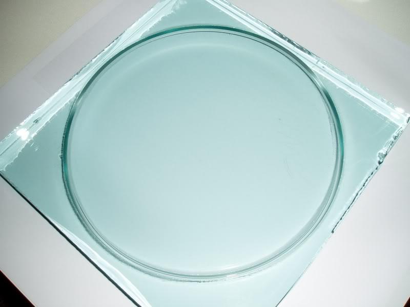 Izrada staklenog diska za zrcalo